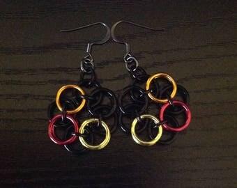 Autumn Flair earrings