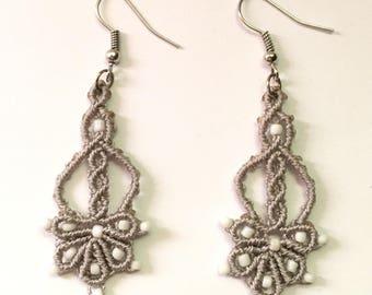 Customizable macramé Earrings