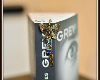 Bookmark bronze bow tie,