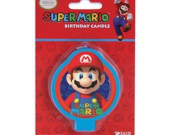 Super Mario Birthday Candle