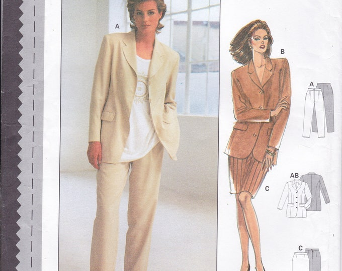 FREE US SHIP Burda 3488 Sewing Pattern Top Jacket Pants Skirt Size 8 10 12 14 16 18 Bust 31 32 34 36 38 40 Uncut Factory Folded