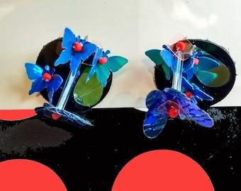 BUTTERFLY 3D EARRING