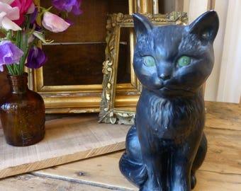 Ceramic Black Cat- Sylvak 1087 - Matt Finish C.1930s