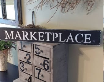 Signs, Farmhouse Sign, Wall Sign, Homemade, Home Decor, Wood Art, Vintage Home Decor, Kitchen Sign, Marketplace, Wood Sign, Market Price