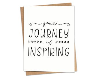 Your Journey is Inspiring Greeting Card SKU C232