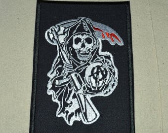 sons of anachy embroidered patch