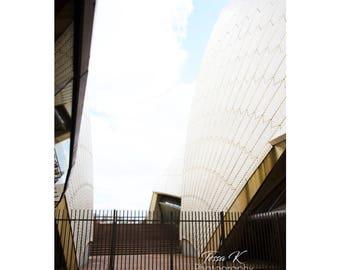 Sydney Opera House Exterior, Fine Art Photography Print, Multiple Sizes, Architecture Photography