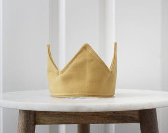 The King Arthur- Fabric Crown for Babies, Toddlers, and adults