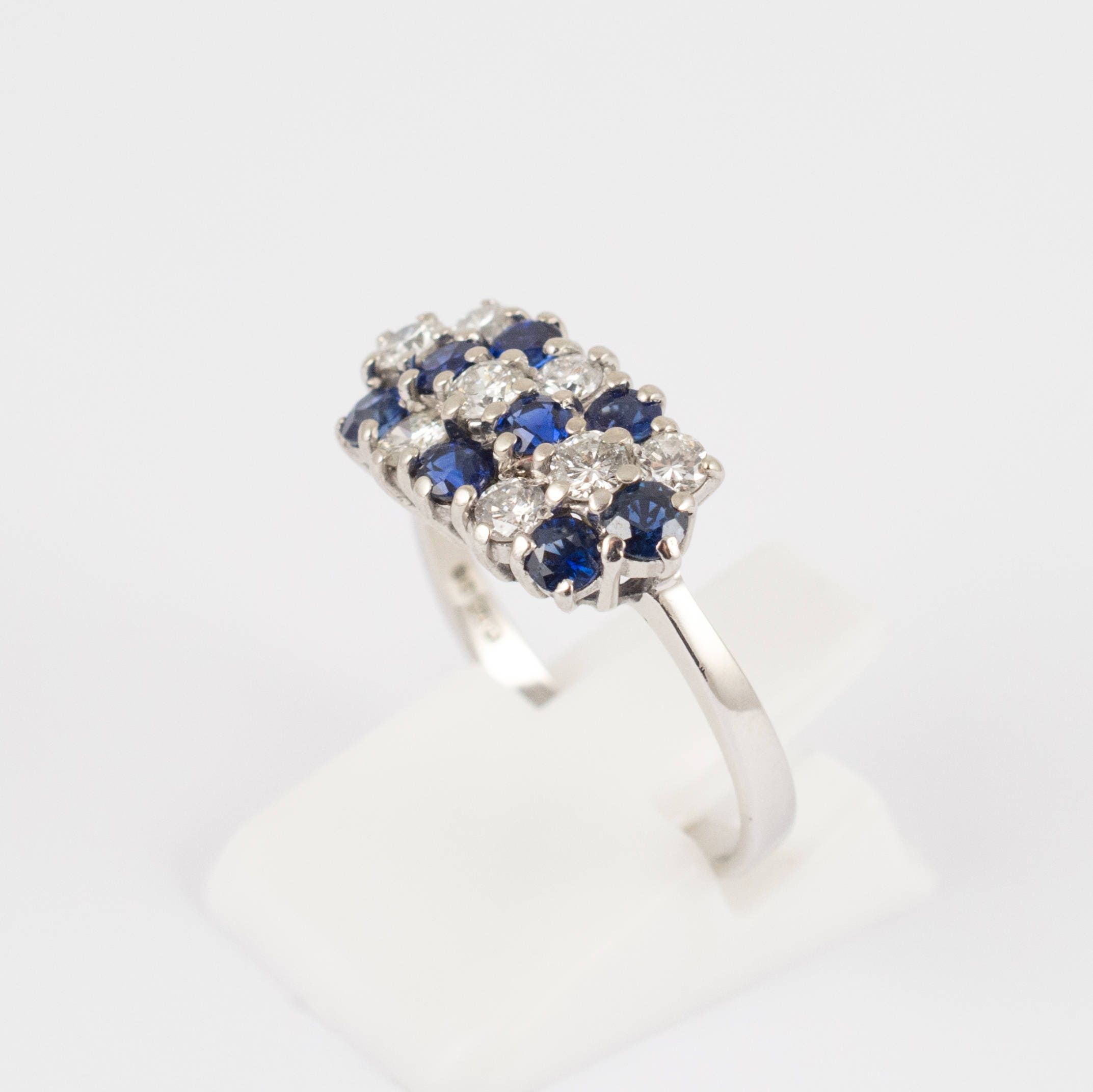 created product plating with gold passion cut clear ring carat sapphire simulated brilliant white jewellery