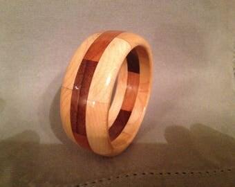 """Segmented bracelet #42: size small (inside diameter 2 3/8"""")"""