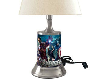 Marvel's The Avengers Lamp with shade