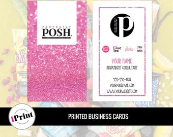 Perfectly Posh Business Card • Perfectly Posh Marketing Materials • Perfectly Posh Consultant Tools • PP-BC029