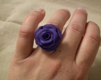 """Ring violet """"Soft Petal Pink"""""""