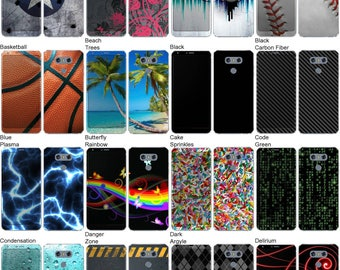 Choose Any 2 Designs - Vinyl Skins / Decals / Stickers for LG G6 Android Smartphone