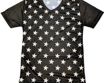 Fight Club Tyler Durden MEDIUM V-Neck T-Shirt