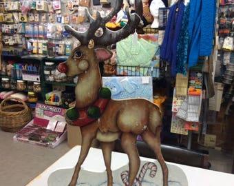 Christmas Reindeer - Free Standing