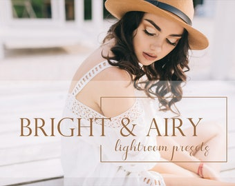 50 Bright & Airy lightroom presets
