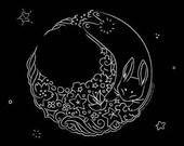 Moon Rabbit T-Shirt