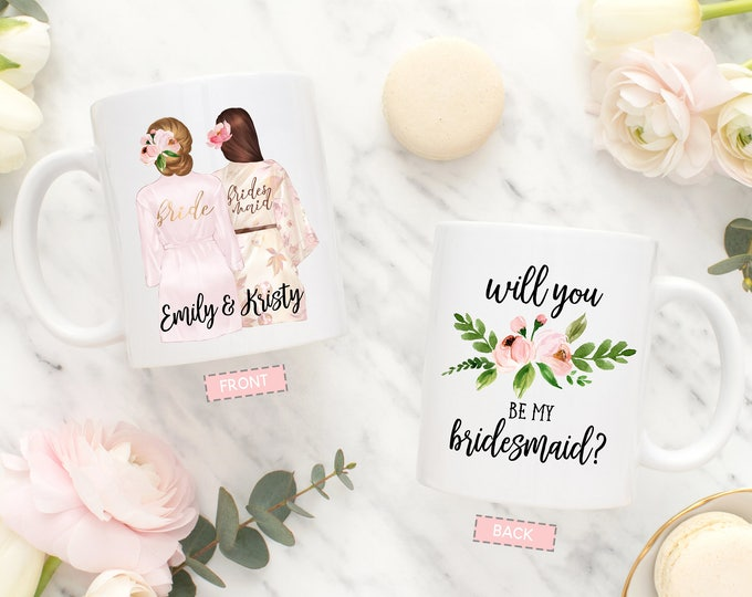Bridesmaid Proposal Mug, Will You Be My Bridesmaid Mug, Proposal Mug for Bridesmaid, Bridesmaid Gift, Personalized Bridesmaid Mug