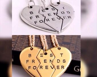 3pcs friendship necklace