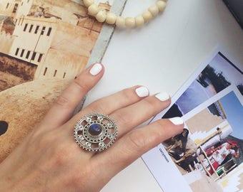 Labradorite ring, silver ring, labrador ring, beautiful ring, stone ring, nice ring, unique ring, unusual ring, fancy ring, nice ring