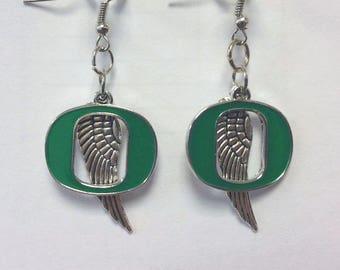 Oregon Duck Earrings