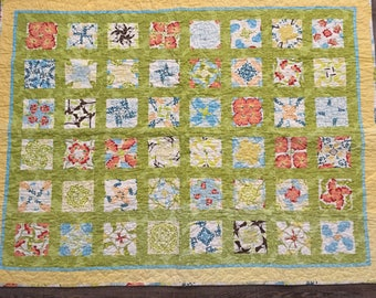 Homemade Kaleidoscope Quilt