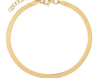 Herring-Bone Bracelet