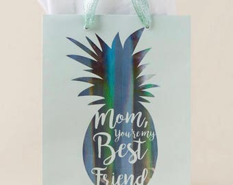 Mom pineapple gift bag