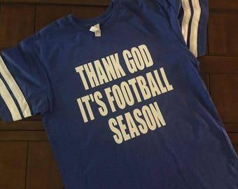 Thank God It's Football Season Tshirt