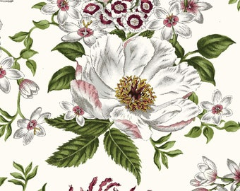 1/2 yd Salon Fleur Floral by Studio E Fabrics SEF3633-09