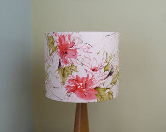 Bright floral lampshade