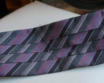 Vintage After Six Striped Cummerbund/Made in the USA/ size Small Medium/ Evening Wear