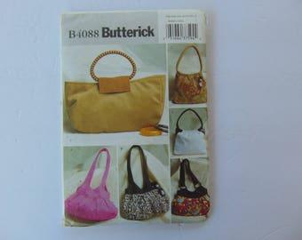 Butterick Sewing Pattern B4088 Handbags in 6 Styles UNCUT