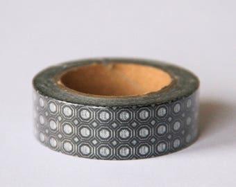 Washi tape - black and white pattern