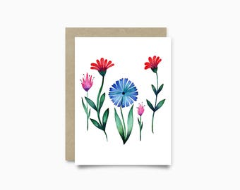 Greeting card - Bloom
