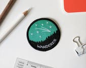 Forest Space Wanderer Embroidered Patch 1st Edition