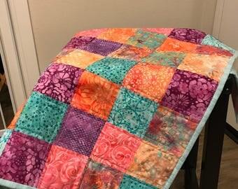 Baby Quilt - Squares