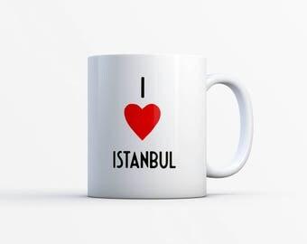 "Special cities around the world / Illustration MUG ""I LOVE... ""/ Nadja love"""