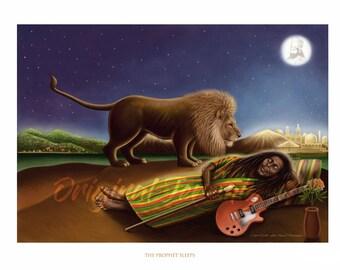 The Prophet Sleeps