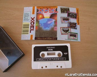 computer game AMSTRAD CPC 464, 664 6128 Xcel (mastertronic) vintage