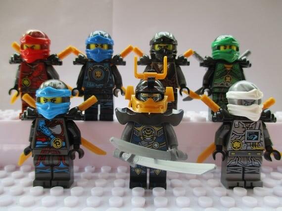 Ninjago saison 7 mini figures nya jay kai cole lloyd - Lego ninjago nouvelle saison ...
