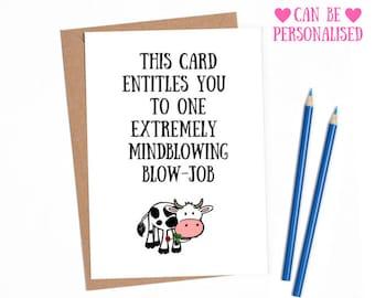 Dirty anniversary for boyfriend, naugfhty anniversary, dirty anniversary for husband, funny rude card, funny anniversary card boyfriend