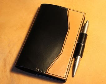 Leather Notebook Cover (Moleskine A6)