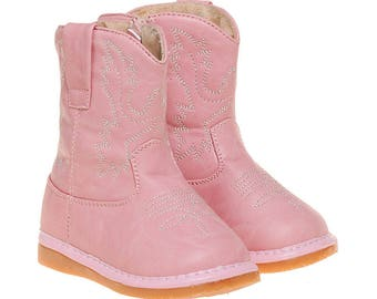 Light Pink Squeaky Boots