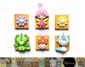 Fairyland Friends Fridge Magnet Set