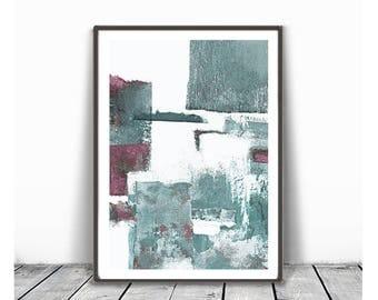 Print, contemporary art, wall art abstract, digital image, abstract , purple  and mind ,modern abstract, scandinavian art