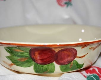 Franciscan Apple Ware Serving Bowl, Franciscan Apple Salad/Vegetable Serving Bowl