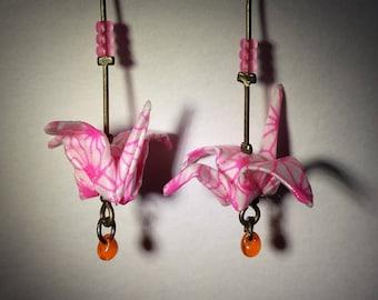 """Birds earrings """"The cute candy"""""""