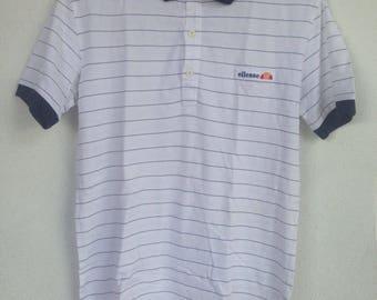 Rare vintage ellesse polo shirt M